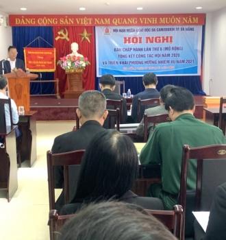 Hội nạn nhân chất độc da cam thành phố Đà Nẵng Tổng kết công tác hội năm 2020 và triển khai nhiệm vụ năm 2021